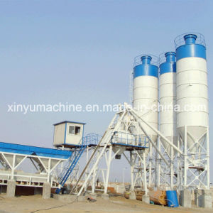 75m3/H Concrete Mixing Plant with Skip Type (HZS75) pictures & photos