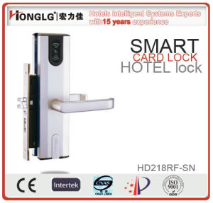 Aluminum Alloy RFID Hotel Lock (HD218) pictures & photos