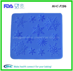 Snow Shape Silicone Cake Mold