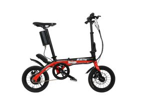 GS-002 14 Inch Foldable Aluminum Alloy Mini Electric Bike E-Bike