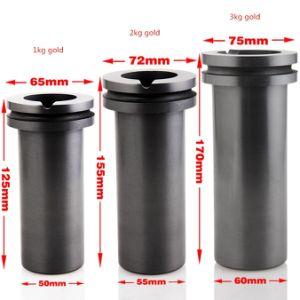 Bulk Density 1.85g/cm3 Graphite Crucible for Melting Gold, Silver pictures & photos
