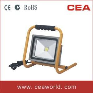 CE RoHS Approved 30W Portable LED Flood Light with Handle pictures & photos