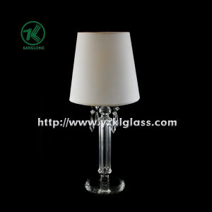 Single Glass Candle Holder for Party Decoration with Lamp (DIA9*27) pictures & photos