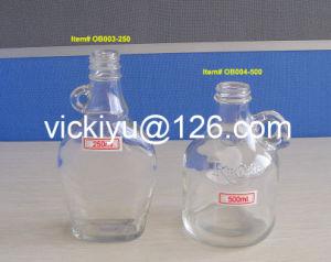 250ml Flat Glass Oil Bottles, 500ml Round Glass Oil Bottles