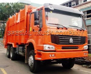 HOWO 6X4 Garbage Truck 22M3 (QDZ5250ZYSA) pictures & photos