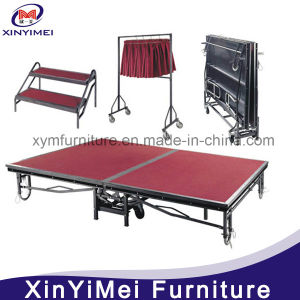Metal Folding Mobile Stage (XYM-P03) pictures & photos