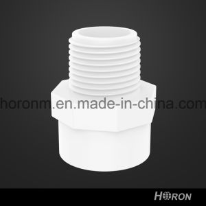 Water Pipe-UPVC Sch40 Male Coupling-PVC D2466 Male Coupling-Male Coupling
