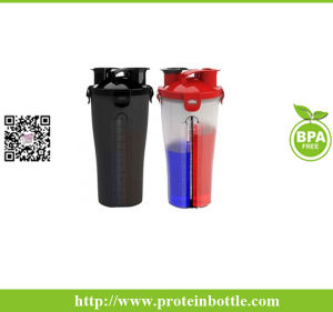 BPA Free Twin Pack Custom Shaker Bottle pictures & photos