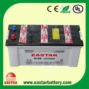 150ah DIN Standard Automobile Storage SMF Battery pictures & photos