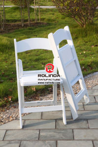 Hot Sale Wholesale White Resin Folding Chair pictures & photos