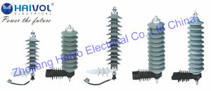 Polymer Housed Surge Arrester 3kv-36kv 10ka pictures & photos
