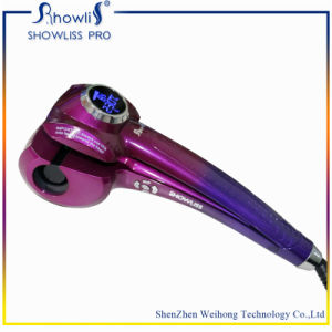 Good Design Colorful LCD Hair Curler