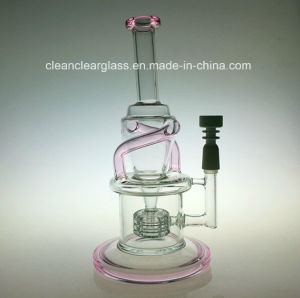2016 New Wake&Bake Incycler Glass Water Pipe Oil Rig with Matrix Stereo Perc pictures & photos