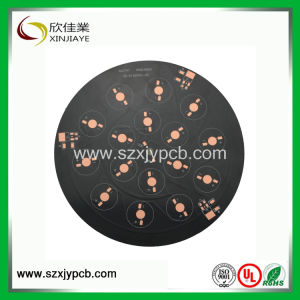 Shenzhen 94V0 Single Layer Aluminum Round LED Printed Circuit Board Assembly pictures & photos