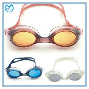 Anti Slip Silicone Professional Prescription Goggles for Swimming pictures & photos