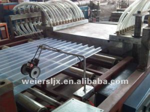 Line Of PVC Transparent Roofing Tile For Greenhouse Canopy