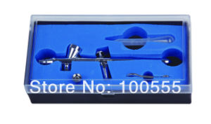 New Design 0.3/0.5/0.8mm 2cc Double-Action Hobby Airbrush Gun Gravity Feed Type Pr-310 pictures & photos
