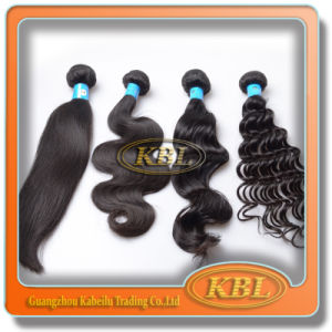 Brazilian Human Hair Weft with Double Weft pictures & photos