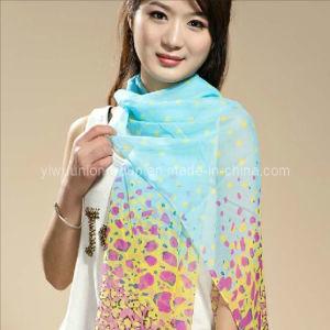 Fashion Long Chiffon Silk Scarf (UD91203)