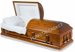 High Quality Wood Casket of American Style