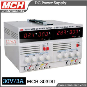 90W 30V 3A Variable Direct Current Power Supply, Variable Dual Channel DC Power Supply, Variable DC Power Supply with CE & RoHS (MCH-303DII)