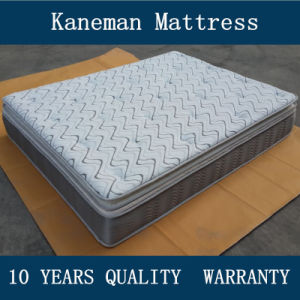 Kaneman Pillow Top Compress Spring Mattress pictures & photos