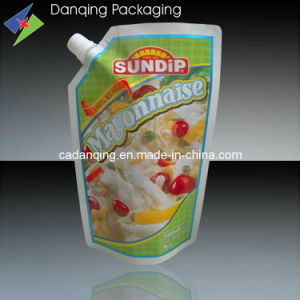 Mayonnaise Pouch with Corner Spout pictures & photos