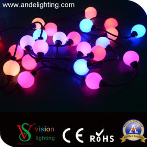 Color Change DMX 512 RGB Christmas String Ball Lights pictures & photos