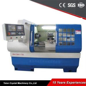 CNC Educational Lathe Machine Cheap CNC Lathes (CK6136A) pictures & photos