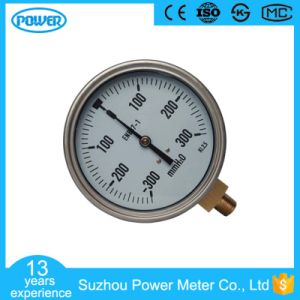 4′′ 100mm Bottom Connection Stainless Steel Bellows Pressure Gauge pictures & photos