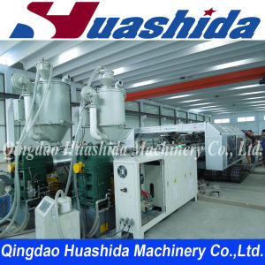 HDPE Double Wall Corrugated Pipe Production Line pictures & photos