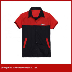 Custom Made Short Sleeve Work Shirts for Summer (W269) pictures & photos