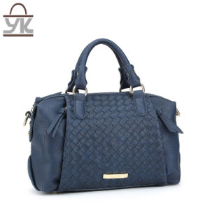 2017 Fashion Style PU Leather Ladies Woven Handbag pictures & photos