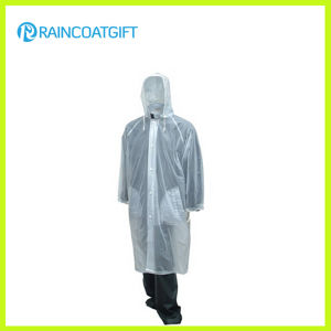 Unisex Transparent PVC Men′s Rain Wear pictures & photos