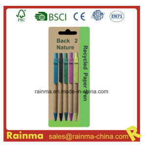 Cheap Paper Ball Pen in Large Quantity Supply pictures & photos