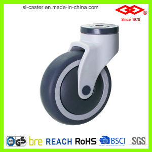 Swivel Bolt Hole Medical Caster (G523-39E100X32C) pictures & photos