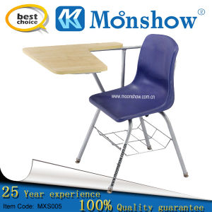 Plastic Chair with Writing Pad (MXS-006)