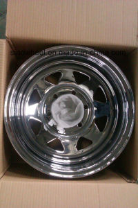 Chrome Steel Wheel for Trailer/ Chrome Steel Wheel Rim for 4X4 Cars pictures & photos