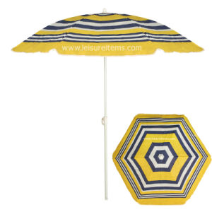 Beach Umbrella with TNT Fabric (OCT-BUT19) pictures & photos