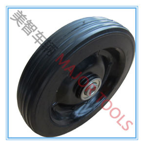 7X1.5 Heavy Weight Solid Rubber Wheel for Wheel Barrow Use pictures & photos