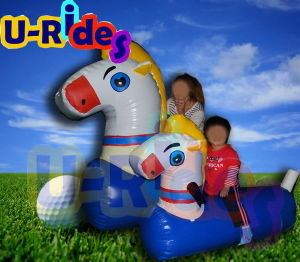 Inflatable Pony Racing Game with Inflatable Track pictures & photos