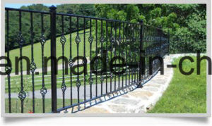 Arts and Crafts Wrought Iron Fence for Garden pictures & photos