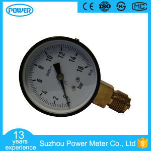 80mm Black Steel Case High Quality Pressure Gauge pictures & photos
