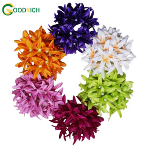 Artificial Silk Flower Head for Decoration