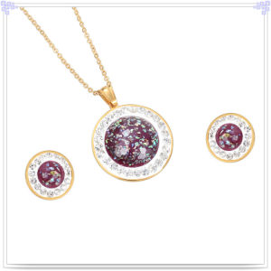 Stainless Steel Jewellery Fashion Accessories Jewelry Set (JS0062)