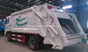 180HP Garbage Collect and Transport Truck 10 T Compressed Garbage Truck pictures & photos