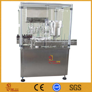 China CE Syrup Filling Machine/Filling Stoppering Capping Machine pictures & photos
