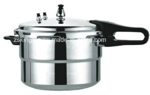 Aluminum Alloy Gas Pressure Cooker pictures & photos