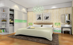 Bedroom Furniture Solid Wood Walk in Closet Wardrobe (zy-003) pictures & photos
