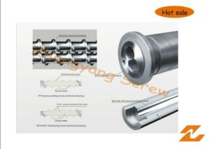 Zyt420 Bimetallic Screw and Barrel for Plastic Machine Long Working Life pictures & photos